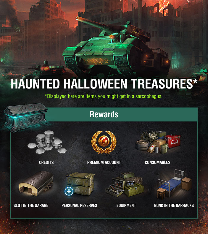 Wot Halloween Reward 2020 Halloween Special: Stop Leviathan's Invasion! | Events | World of