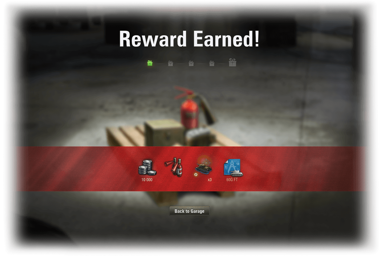 Reward for Merit