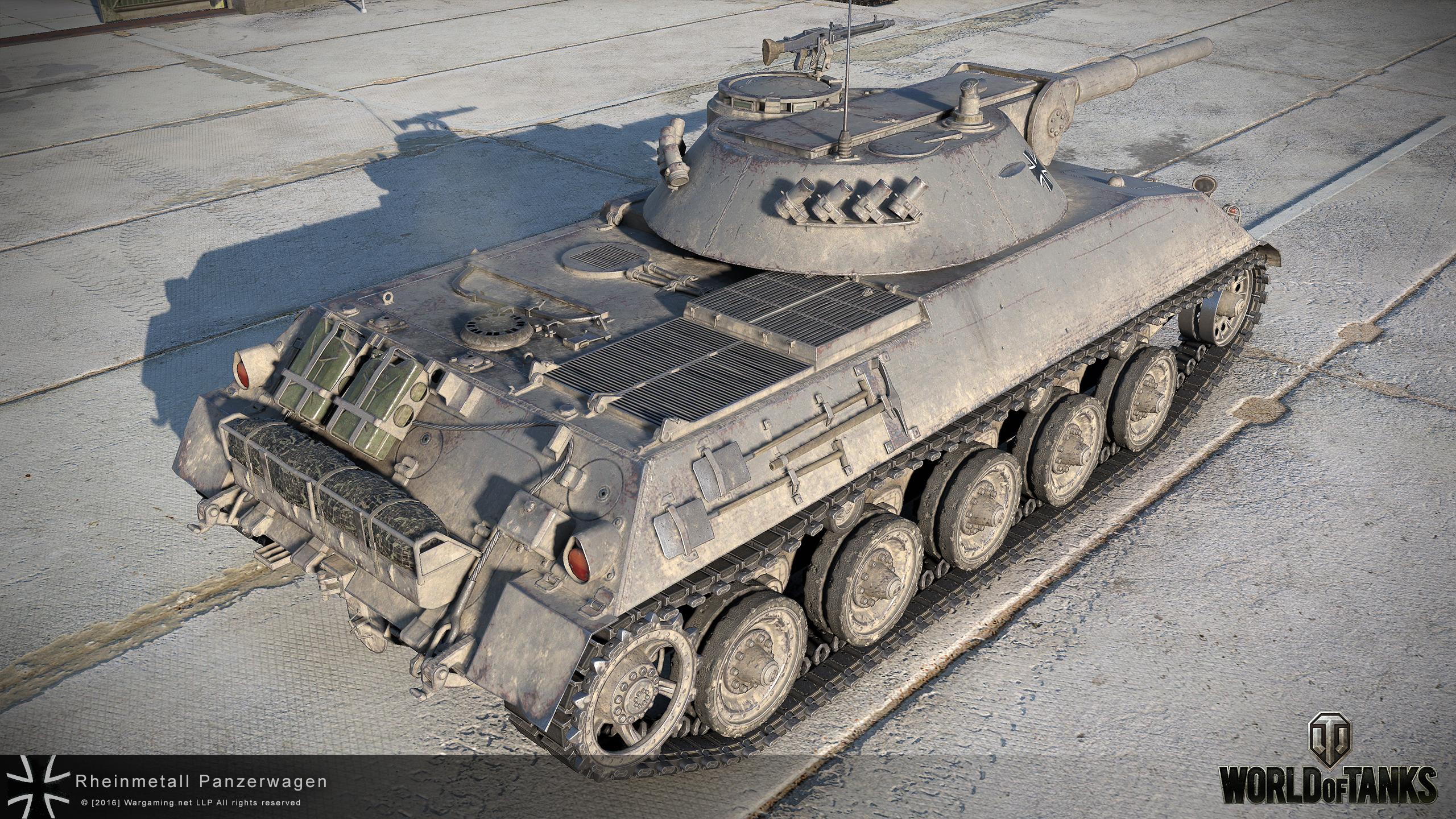 Light Tanks Revision: Germany | News | World of Tanks