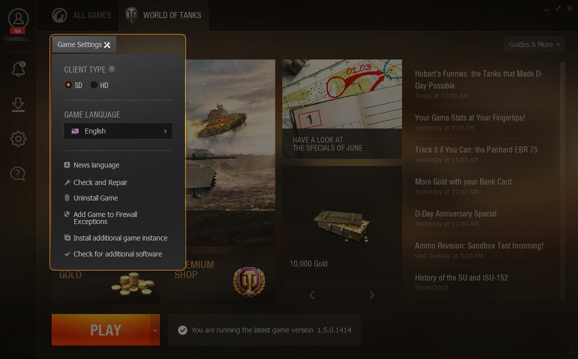 Wargaming net Game Center Guide