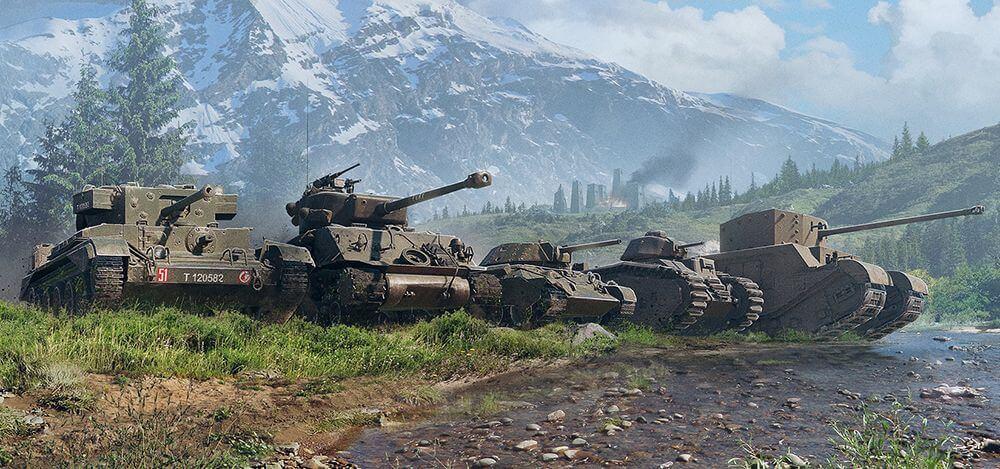 Oftewel, voor tier X tanks gelden andere requirements dan wanneer je met tier.