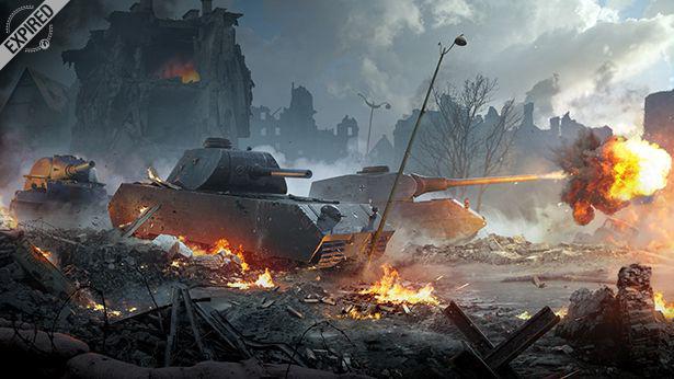 mod to keep a garage world of tanks