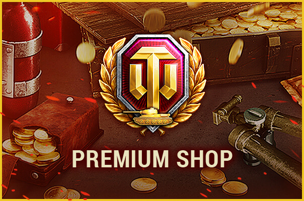 World of Tanks Premium shop image with link to sign up!
