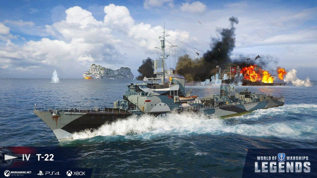 World of Warships: Legends is Here!   Announcements   World