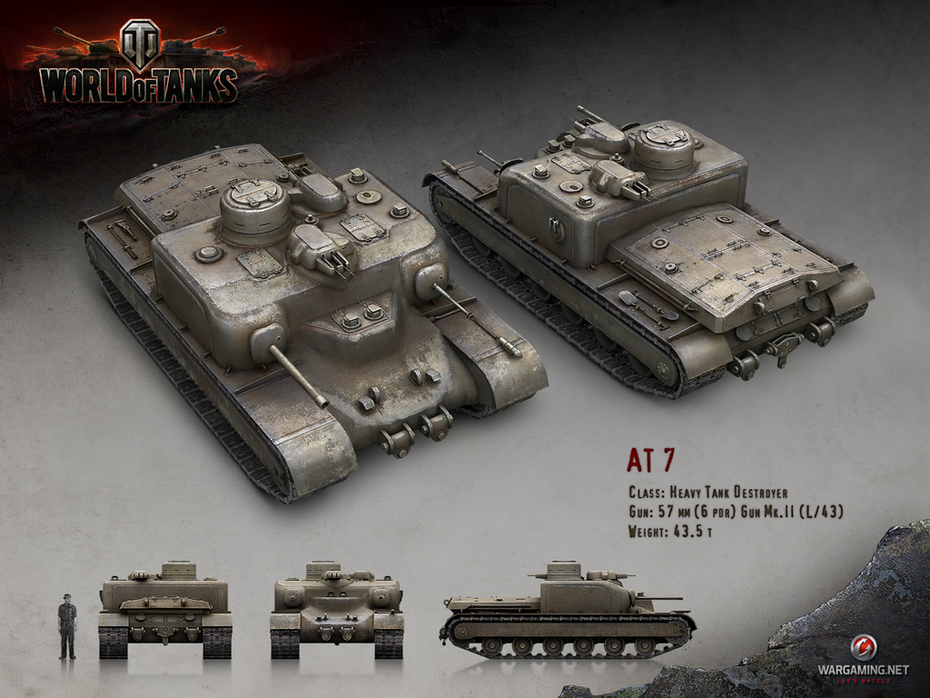 AT7 | Tanks: World of Tanks media, best videos and artwork